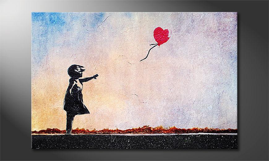 Banksy No14 tela