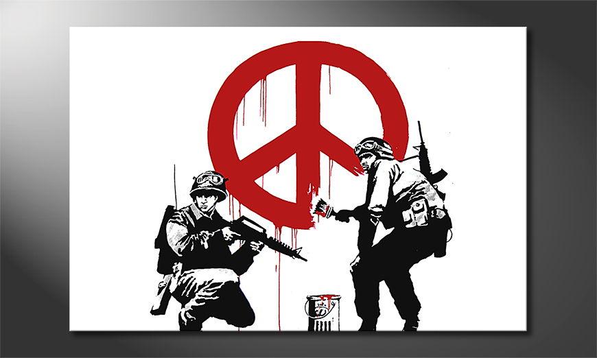 Banksy No15 tela