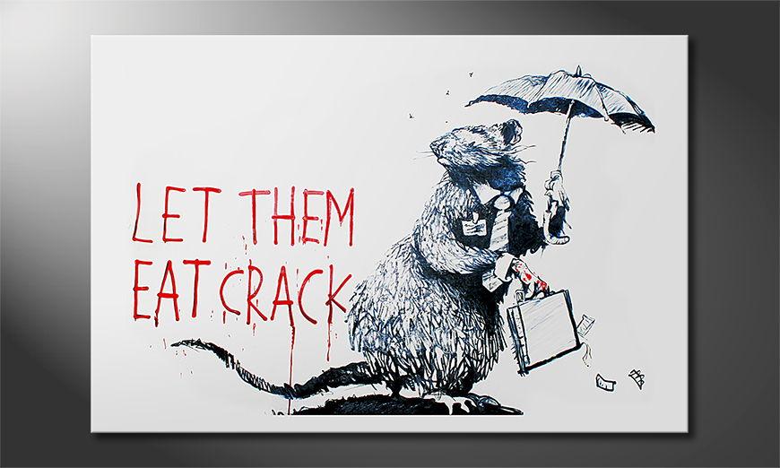 Banksy No16 tela