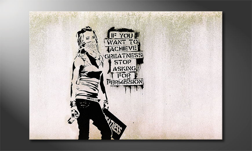 Banksy No7 tela