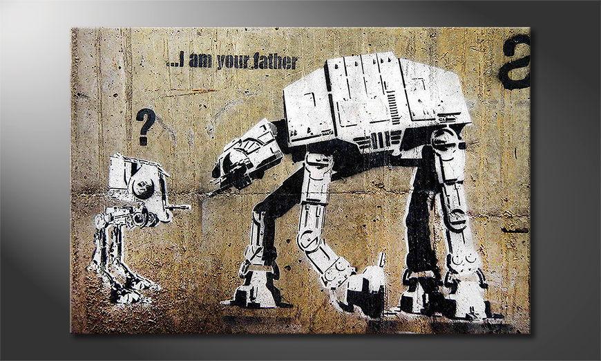 Banksy No9 tela