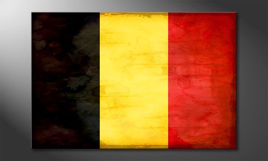 Belgio quadro moderni