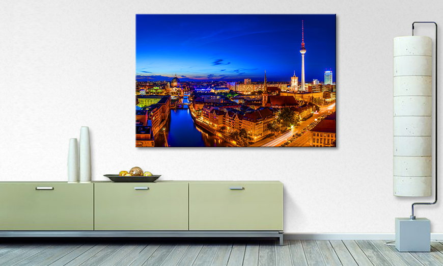 Berlin City quadro