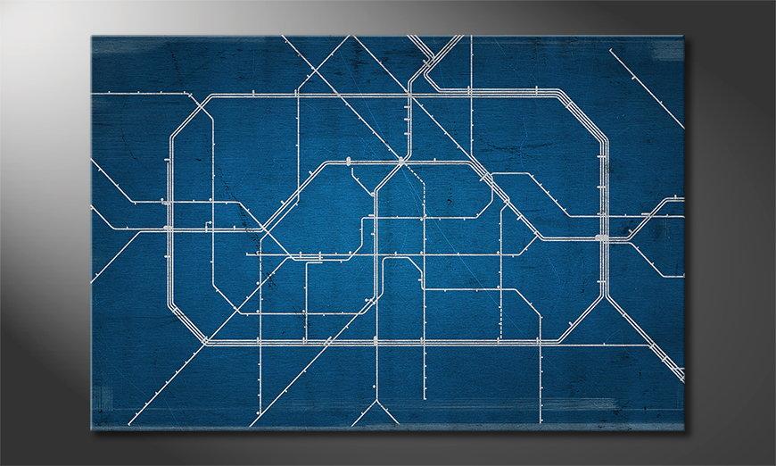 Berlin Metro quadro