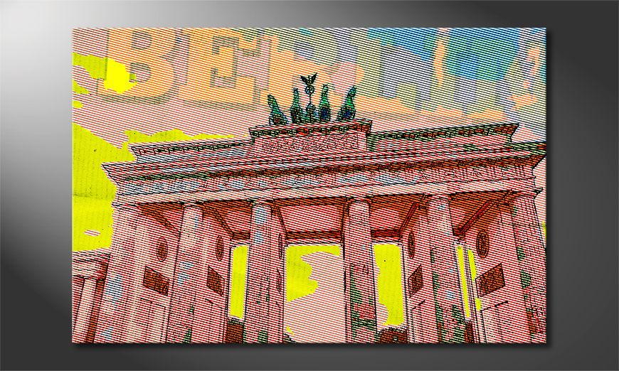 Berlino quadro moderni