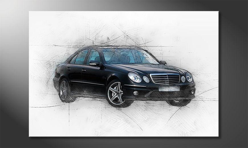 Black Class quadro moderni