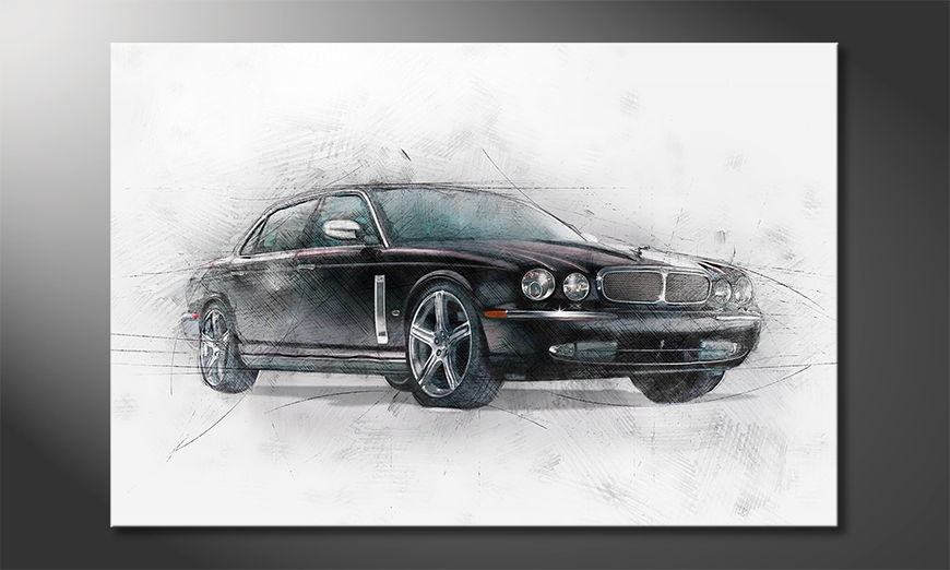 Black Jag quadro moderni