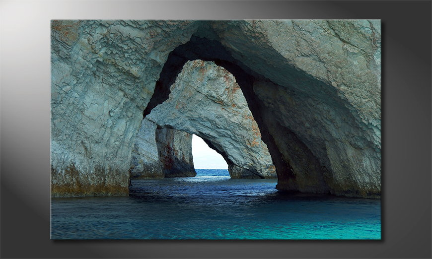 Blue Caves quadro