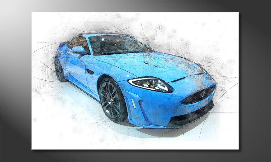 Blue Jag quadro moderni