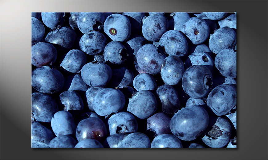 Blueberries quadro