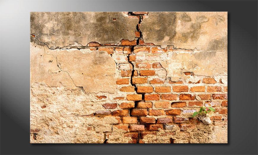 Broken Wall quadro