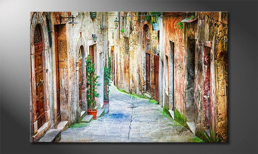 Charming Alley quadro