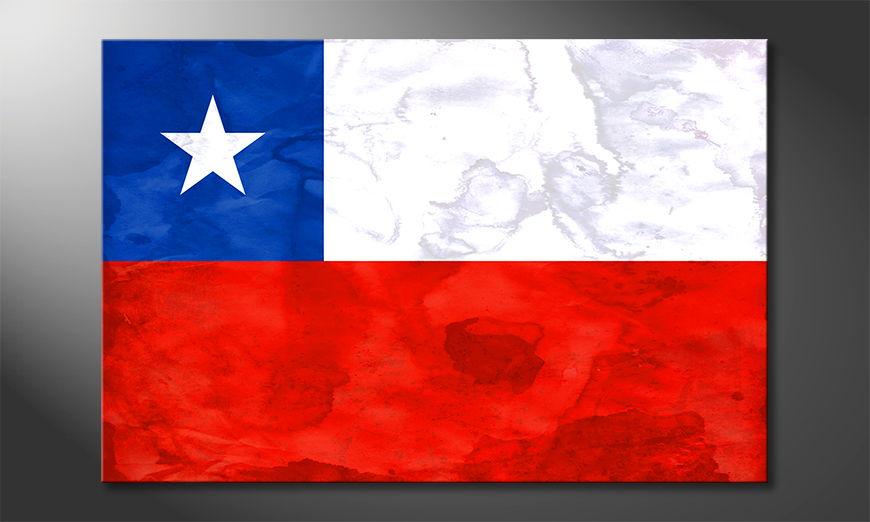 Chile quadro moderni
