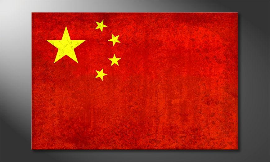 China quadro moderni
