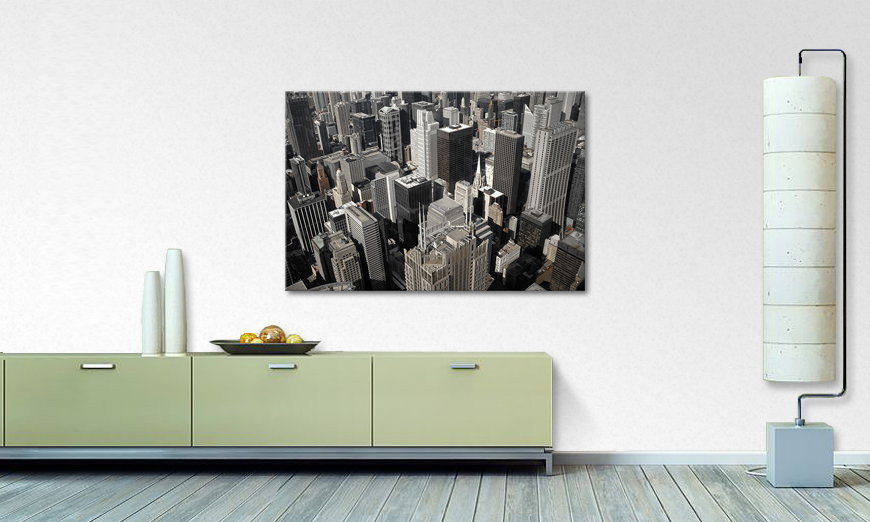 City of Chicago quadro