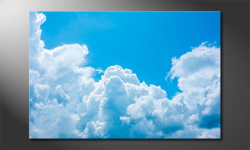 Clouds quadro