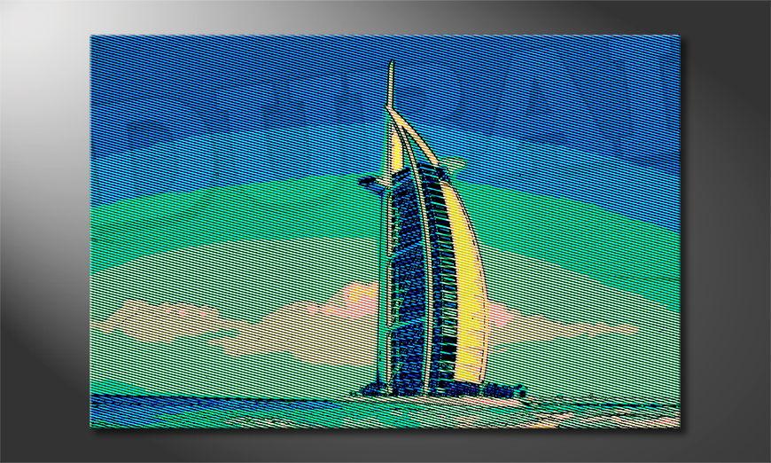 Dubai quadro