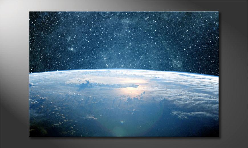 Earth Planet I quadro