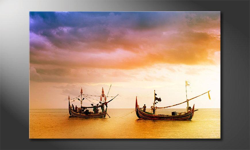 Fishing Boats quadro