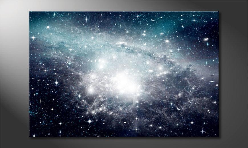Galaxy quadro