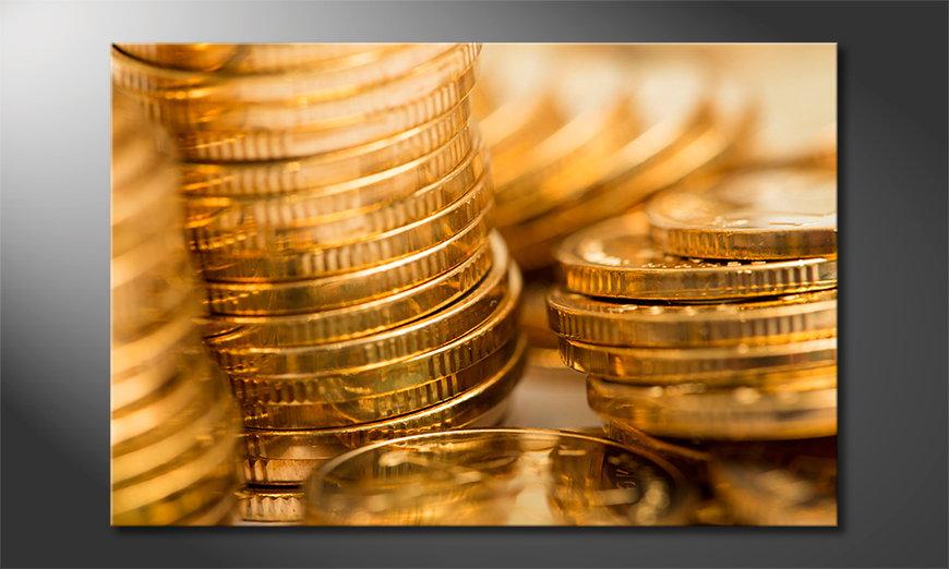 Gold Coins quadro