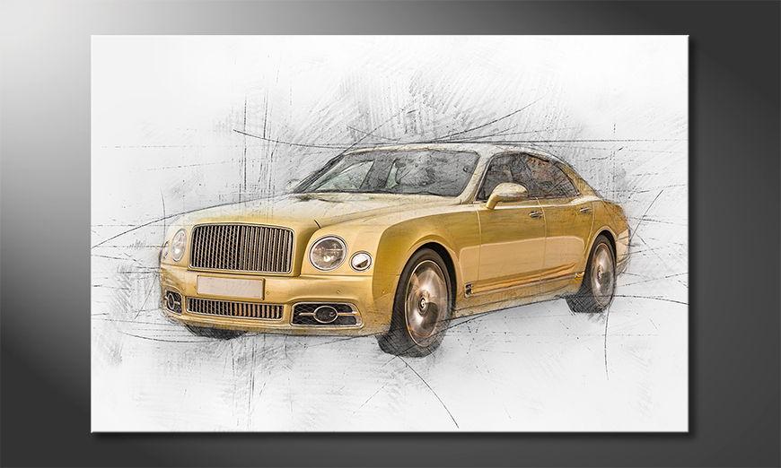 Golden Elegance quadro moderni