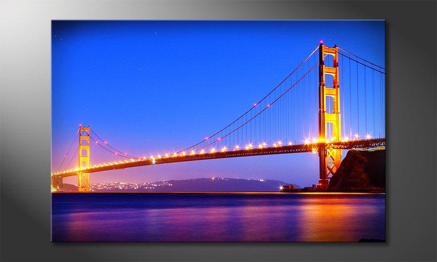 Golden Gate quadro da soggiorno