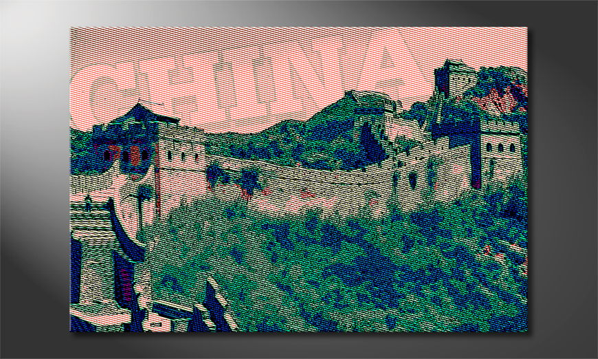 Grande Muraglia Cinese tela