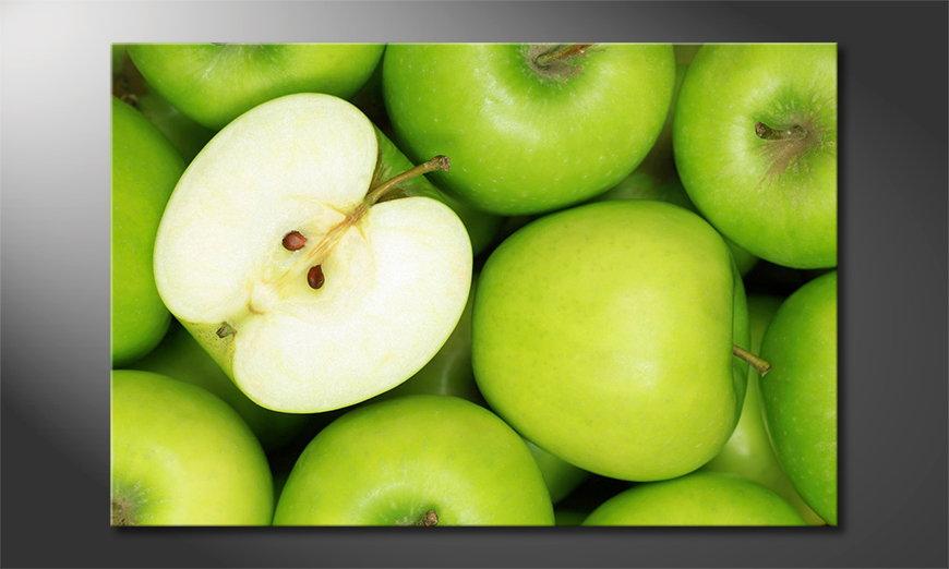 Green Apples tela