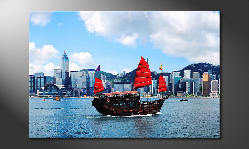 Hongkong Boat tela