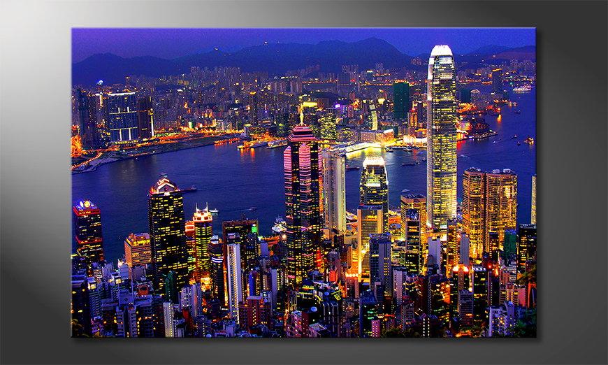 Hongkong View tela