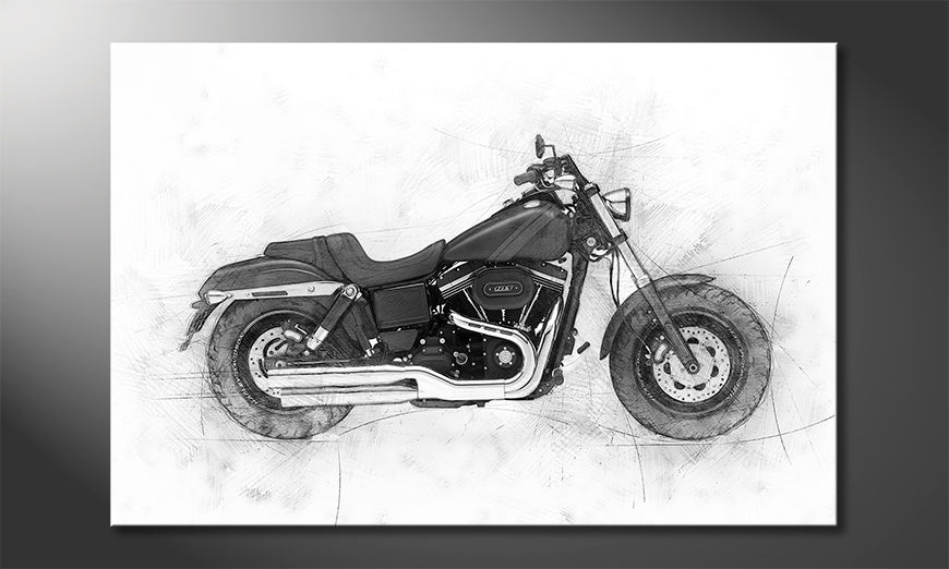 I quadri stampati Motorbike Uno