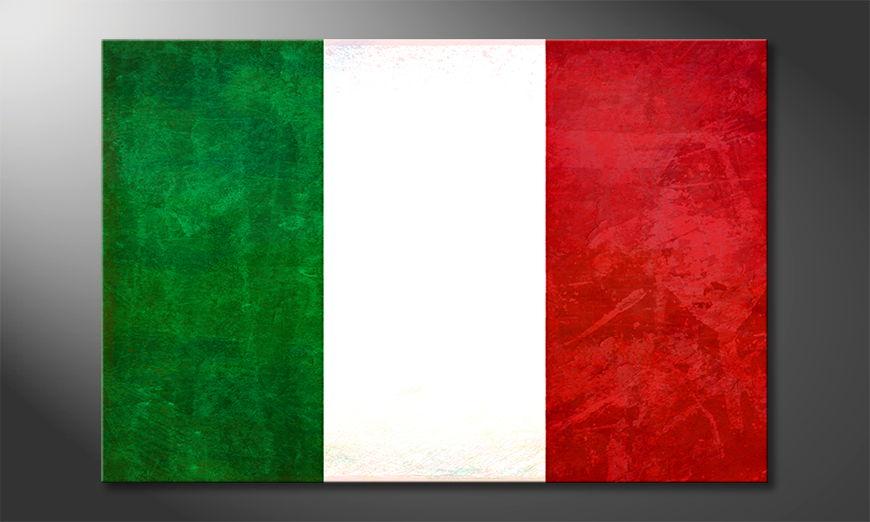 Italia quadro moderni
