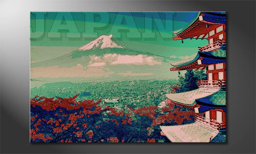 Japan quadro