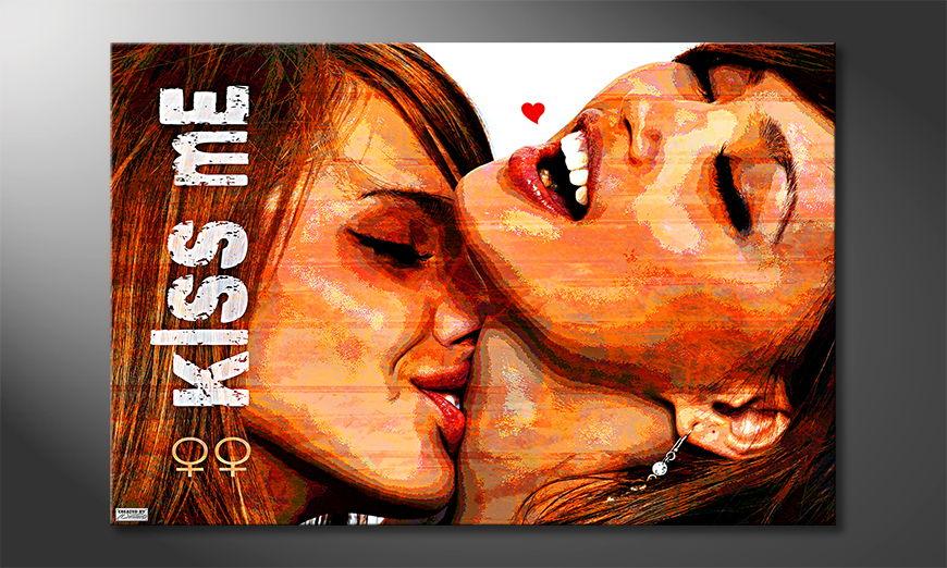 Kiss Me quadro