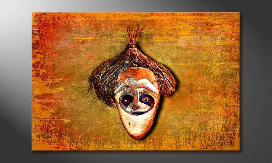 La bella pittura Bloc Head