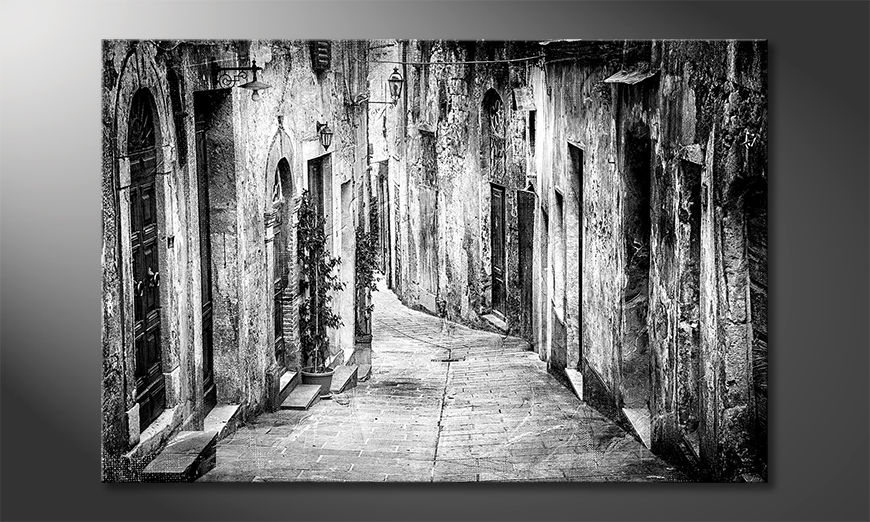 La bella pittura Charming Old Streets