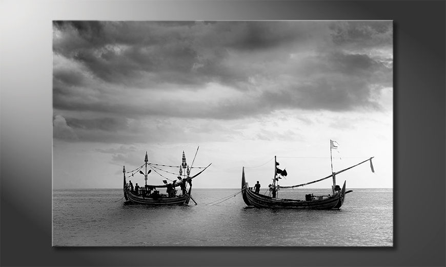 La bella pittura Fishing Boats