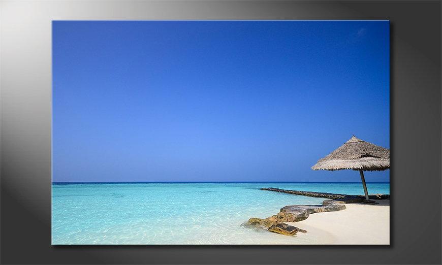 Maledives Beach quadro