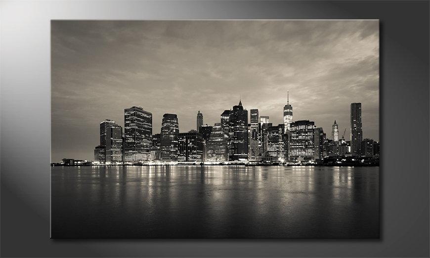 Manhatten Skyline quadro