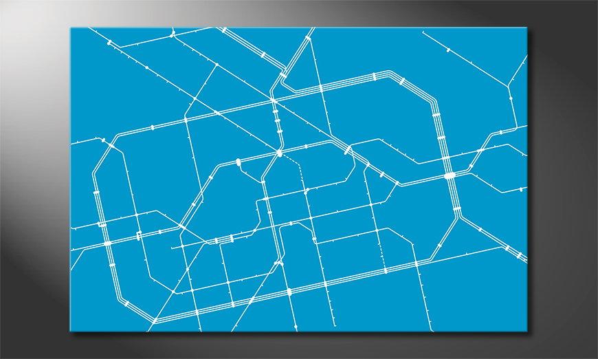 Metro Berlin quadro