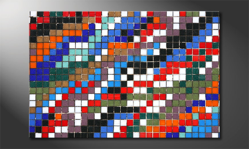 Mosaic tela