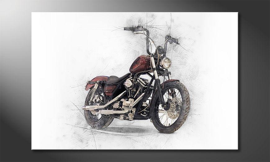 Motorbike quadro moderni