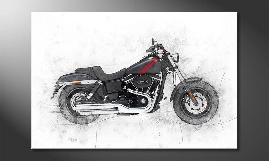 Motorbike uno quadro moderni