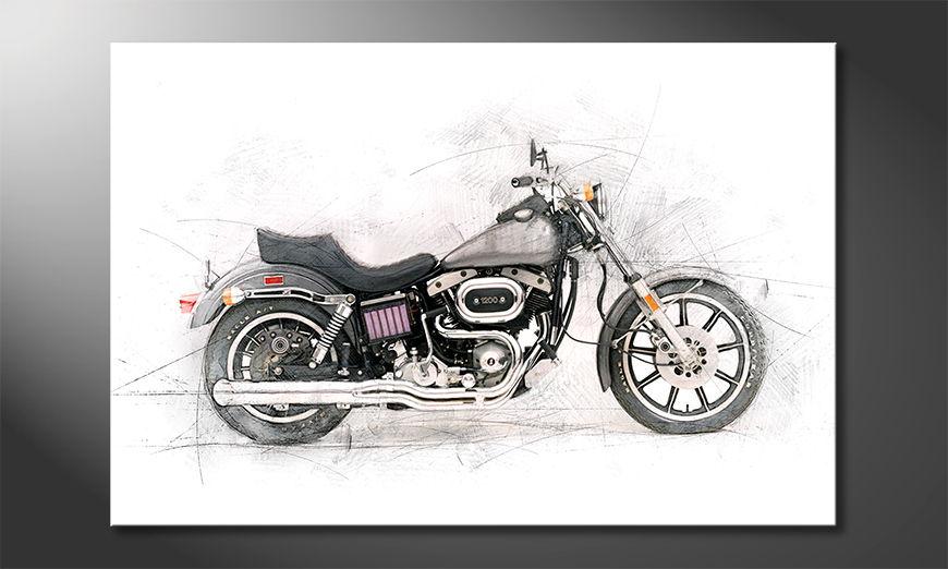 Motorcycle quadro moderni