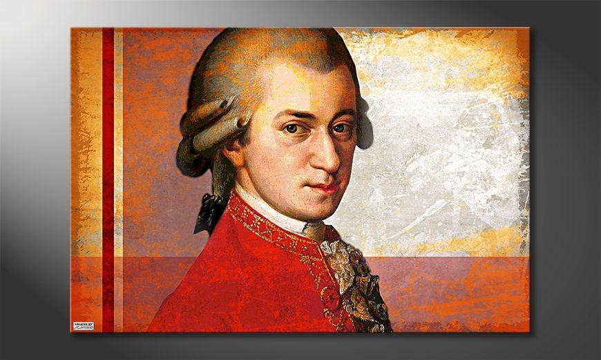 Mozart quadro