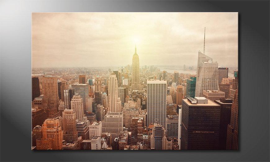New York Retro quadro