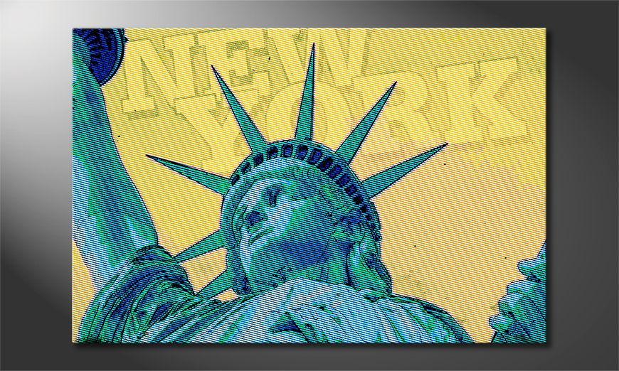 New York quadro