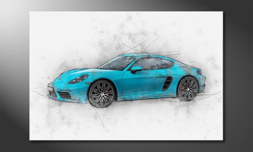 Pure Speed quadro moderni