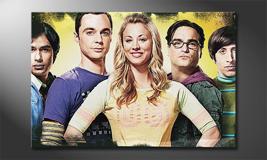 Quadro Big Bang Theory